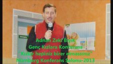 Efsane Müftü Almanya'da Genç Kızlara Konferans Verdi