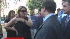 CHP'li kadına Vali fırçası! Senden mi izin alacağım?
