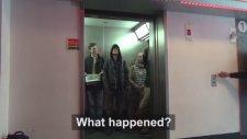 Asansörde Star Wars şakası