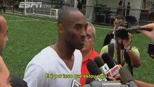 Büyük buluşma! Ronaldinho ile Kobe Bryant
