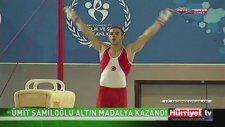 Ümit Şamiloğlu, Akdeniz Oyunları tarihinde bir ilke imza attı