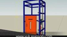 Yük Asansörü - Yük Platformu (1000 Kg)  | HYDROLIFT | www.devas.com.tr