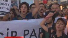 Sivas Olaylarına Taksim'de Mumlu Anma