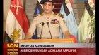 Mısır'da ordu yönetime el koydu