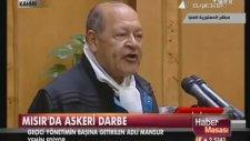 Yeni Mısır Cumhurbaşkanı Adli Mansur Yemin Etti