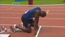 Usain Bolt yine uçtu   Yılın en hızlı derecesi