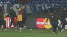 Fatih Terim Didier Drogba Wesley Sneijder Diyaloğu