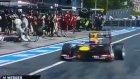 Formula 1'de Kameramana Lastik Çarptı