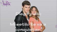 Violetta 2: Yo Soy Asi Letra Duo Diego Y Violetta Completa