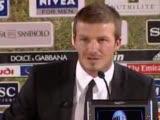 David Beckham Milanda