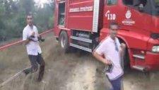 Beykoz'da 4 Noktada Orman Yangını