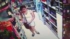 Markette Hırsızlık Girişimi
