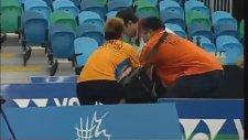 Badminton Finalinde Kavga