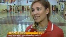 Esra Şencebe,Galatasaray TV'ye Açıklamalarda Bulundu..