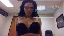 Google Glass gözlükleriyle bunuda yaptılar!