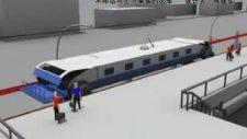 Japonların Son İcadı Durmadan Yolcu Alan Tren!
