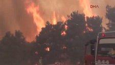 Gelibolu'daki Yangın Yayılıyor