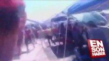 Abd'de Sürat Teknesi Seyircilerin Arasına Böyle Daldı