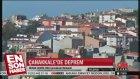 Çanakkale Gökçeada'da Deprem
