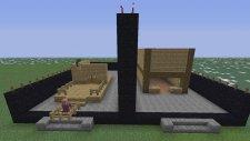 Minecraft: Hızlı Yapı Kapışmaları - Bölüm 7 - Cravled Vs Babavatan5 - Tahta Ev (Türkçe)