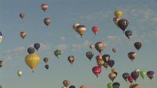 400 Balonla Gökyüzünde Şölen