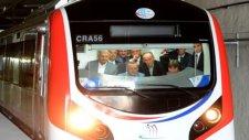 Başbakan Erdoğan Marmaray'da test sürüşü yaptı