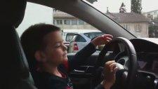 4 Yaşında Audi A6 Sürmek