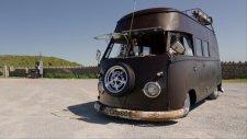 Volkswagen 63 T1 Yüksek Tavan Bus - Mat Siyah