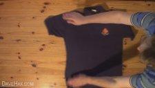 2 Saniyede T-shirt Katlama