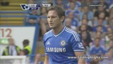 Frank Lampard'tan  Mükemmel Frikik Golü