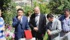 Dalpınar Köyü Dernek Başkanımıza Ve Hocamıza Plaket Verilirken