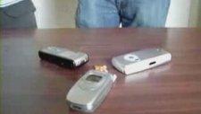 Cep Telefonuyla Mısır Patlatma