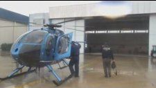 Terörle Mücadele Şube Müdürlüğü helikopter destekli operasyon