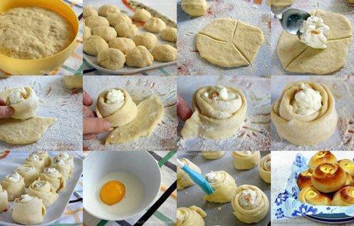 Bayatlamayan Peynirli Gül Poğaça Tarifi Videosu