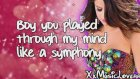 Selena Gomez & The Scene - Love You Like A Love Song - Lyrics On Screen Hd