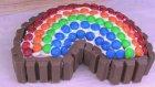 Kit Kat Ve Bonibonlu Gökkuşağı Pasta