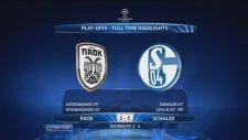 Paok 2-3 Schalke (Maç Özeti)