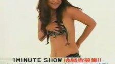 Japon TV'de seksi One Minute yarışması
