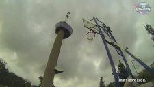 98 Metreden Basket Atmak Dünya Rekoru!