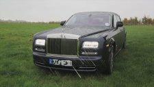 Lüks Rolls Royce'a Acımamak