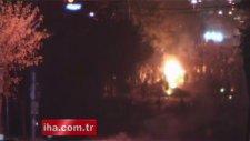 Gazi Mahallesi'nde Göstericiler Polisle Çatıştı!