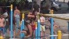 Ukrayna'da spor yapan seksi kızlar