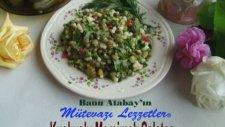 Kuskuslu Mercimek Salatası Tarifi