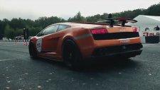 Lamborghini 402 Km Yapınca Alev Attı