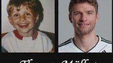 Futbolcuların Küçüklüğü