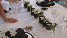 Yemek Masasına Aksesuar Ve Çiçek Nasıl Yerleştirilmelidir?