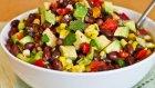 Karışık Barbunya Salatası Tarifi