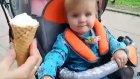 Bebeğin İlk Dondurma Deneyimi