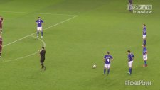 İngiltere Lig Kupasında Mükemmel Frikik Golü