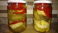 Közlenmiş Patlıcan Konservesi Tarifi